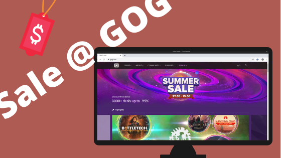 Summer Sale on GOG Games Store